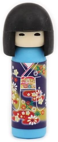 adornos Jap/ón Goma de borrar mu/ñeca japonesa Kokeshi