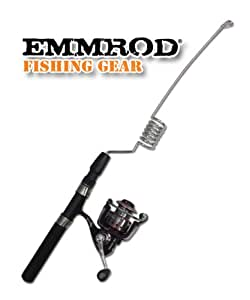 Emmrod Packrod Fishing Combo 6 Coil Spinning Pole w/DCM Open Face Reel