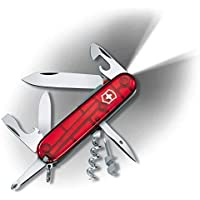 Victorinox 1.7804.T Spartan Lite Çakı Çakı Yetişkin, Şeffaf Kırmızı, 9 Cm