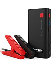 GOOLOO Upgraded 1200A Peak 18000mAh Portable Car Jump Starter (Up to 7.0L Gas or 5.5L Diesel Engine) High Speed Quick Charge 3.0 Auto Booster Power Pack Phone Charger Built-in LED Light