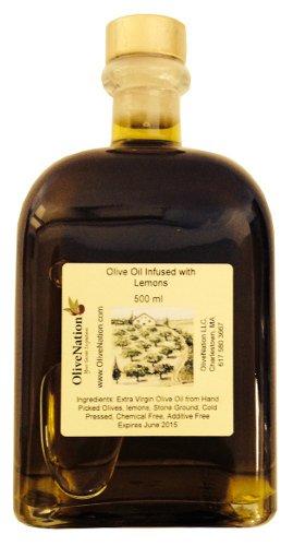 Lemon Infused Olive Oil 500 ml by OliveNation