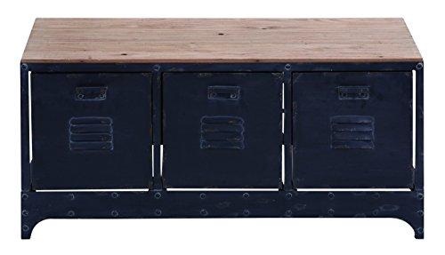 Vintage-Style Storage Bench