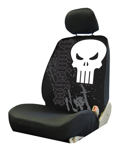 Plasticolor 006935R01 Marvel 'Punisher' Low Back Bucket Seat ()