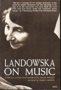 Landowska on Music - Restout, Denise; Hawkins, Robert