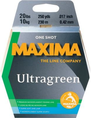 Maxima One Shot Spool (4-Pound Test ), Green, (Maxima Tippet)