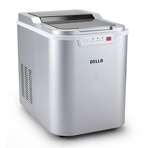DELLA 048-GM-48225 Portable Ice Maker Machine High Capacity, Yields up to 26...