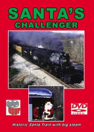 (Santa's Challenger, Union Pacific 3985 pulls the famous Santa Claus Train on ...)
