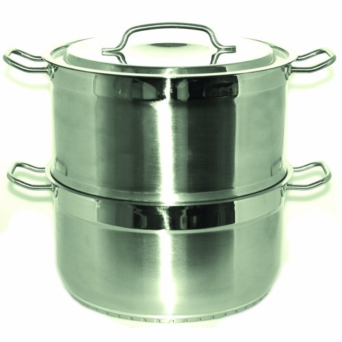 BergHOFF Hotel Line 12-Inch Deluxe Large Steamer 11-Quart by Berghoff