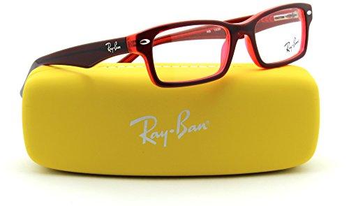 Ray-Ban RY1530 JUNIOR Square Prescription Eyeglasses RX - able 3664, - Eyeglasses Prescription Red Ban Ray