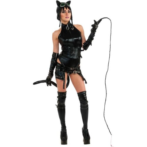 Anime Catwoman Costume - Large - Dress Size 12-14