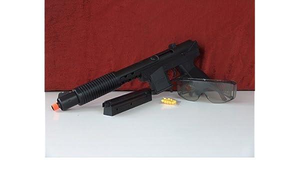 Airsoft Pumpgun, 40 cm, con gafas, MG MP289, con cargador ...