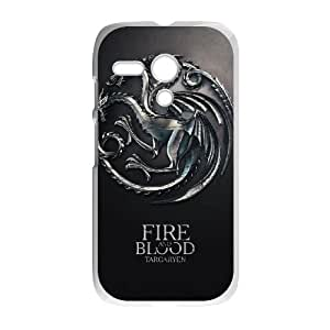 Motorola G Cell Phone Case White Game of Thrones Hyqo