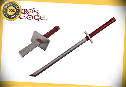 40'' Foam Padded Japanese Samurai Katana LARP sword Great For Constume NIB perfect for cosplay outdoor camping ()
