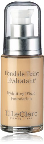 T. LeClerc Hydrating Fluid Foundation SPF 20 - # 04 Beige Abricote 30ml/1oz (Leclerc Lip Care)