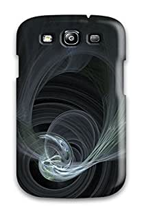 Premium PTdbHLT11578dvukt Case With Scratch-resistant/ Perspective Abstract Case Cover For Galaxy S3