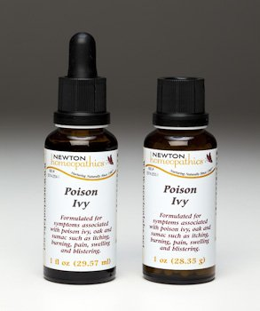 Newton Homeopathics Poison Ivy 1 fl. oz (2 Pack) (Remedies Poison Homeopathic Ivy)