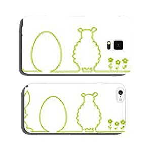 Easter bunny silhouette egg sheep cell phone cover case iPhone6