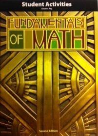 Fundamentals of Math Activity Manual Answer Key 2nd Edition