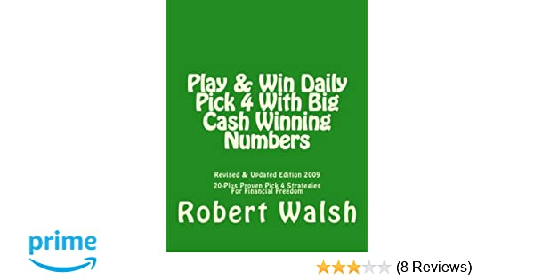 Play & Win Daily Pick 4 With Big Cash Winning Numbers: 20