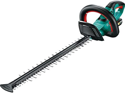Bosch AHS 20-50 Cordless Hedge Trimmer - Blade Guard Efficiency