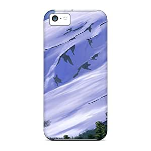 3d Falcons In The Mountains Cases Compatible With Iphone 4s/ Hot Protection Cases