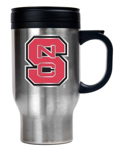NCAA North Carolina State Wolfpack 16-Ounce Stainless Steel Travel Mug