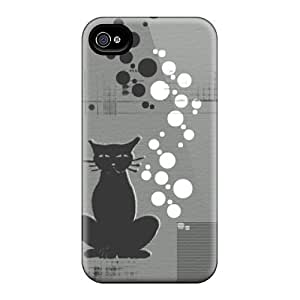 HVC12523QVtB CaroleSignorile Unhappycat Durable Iphone 6 Cases