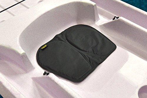 (Skwoosh Gel Kayak Seat Cushion for Sitting Comfort While Paddling, Boat and Fishing Made in USA (Black))