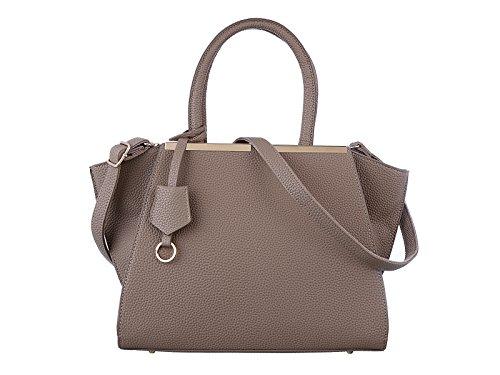 Valentine's Sale TZECHO Women Top Handle Satchel Handbags,Zip Closure Tote Shoulder Bag,TZA007