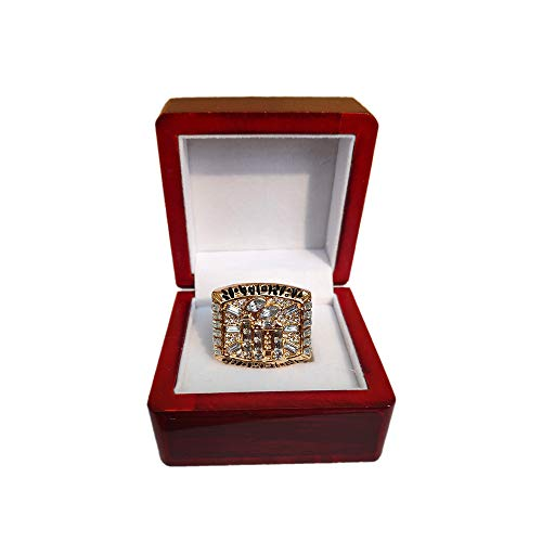 (Gloral HIF Florida State Seminoles Championship Ring Florida State University 1999 BCS National Replica Greg Moore with Box)