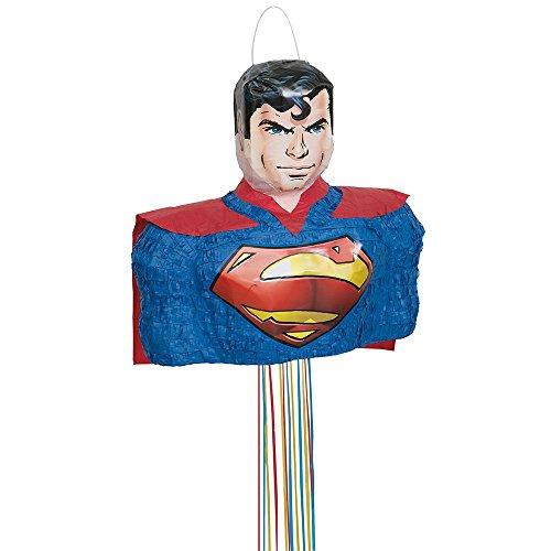 Superman Pinata, Pull String -