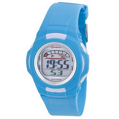 Montre Concept - Relojes digitales hombre Mingrui - Correa Plástico turquesa - Dial Redondo Fondo turquesa: Amazon.es: Relojes