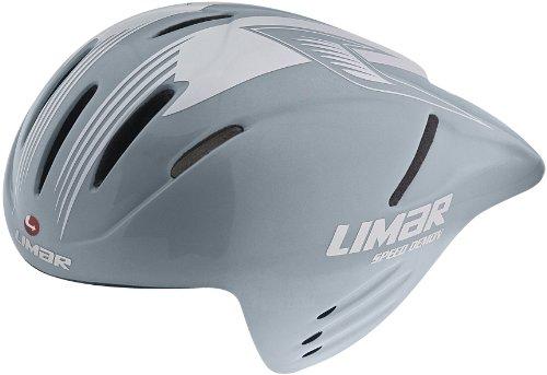 56 Carbon (Limar Crono Speed Demon Carbon Bike Helmet, Silver, Large/54-61cm)