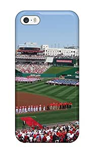 Excellent Iphone 5/5s Case Tpu Cover Back Skin Protector Washington Nationals