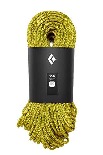 Black Diamond 9.4mm Climbing Rope - Gold 60m
