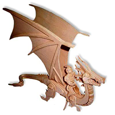 ULT-unite SEA-Land 3-D Wooden Puzzle (Flying Dragon): Toys & Games [5Bkhe2003095]