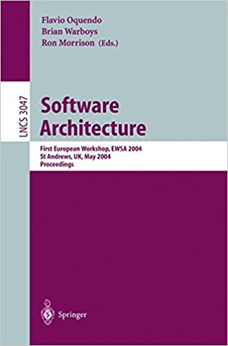 Software Architecture: First European Workshop, EWSA 2004, St Andrews, UK, May 21-22, 2004, Proceedings (Lecture Notes in Computer Science)