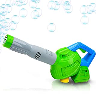 ArtCreativity Leaf Bubble Blower with Bubble Solution Included, Fun Bubbles Blowing Toys for Kids, Best Birthday Gift for Boys and Girls