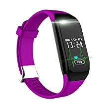 Fitness Tracker NewYouDirect Heart Rate Monitor Smart Bracelet H3 Sport Wristband Smartband Pedometer Activity Tracker Calorie Counter Smart Watch for Apple IOS Android Smartphone