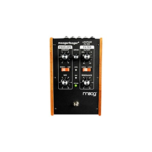 Moog MF101 Moogerfooger Low Pass Filter Effects Pedal for Guitar, Bass, and Synth - Black by Moog