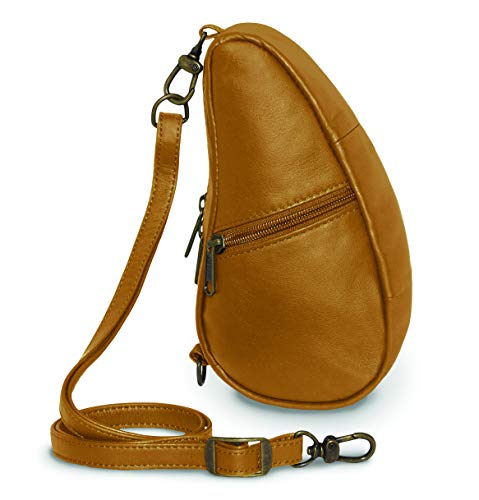 AmeriBag Leather Baglett Shoulder Pack, Sand ()