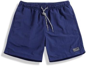 WDDGPZ Pantalones Cortos De Playa/Shorts Deportivos Hombres Verano Sólido Elástico De Algodón Cortos Hombre Ropa Hip Hop Fuera De Moda Desgaste Mens Shorts L-5Xl,Marina,XXL: Amazon.es: Deportes y aire libre