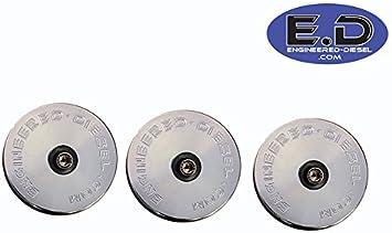 Present E.D Billet Cummins 5.9L /& 6.7L 2003 Freeze Plug Rear