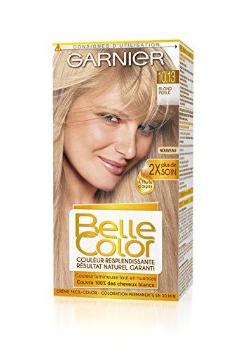 garnier belle color coloration permanente blond 1013 blond perl naturel amazonfr hygine et soins du corps - Coloration Blond Perle