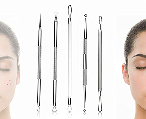 bestope blackhead remover pimple comedone extractor tool best acne removal kit