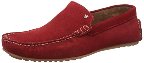 Louis Philippe Men's Leather Sneakers