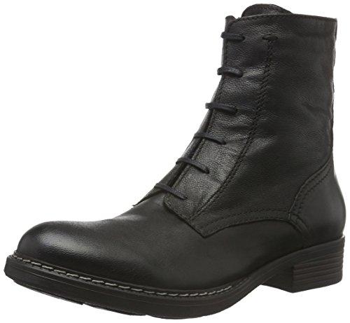 Tamaris 25223, Botas Militar para Mujer Negro (BLACK ANTIC 002)