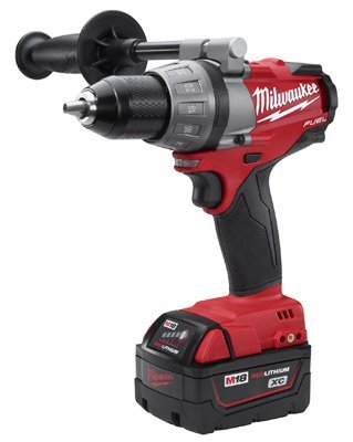 Milwaukee 2603-22 XC M18 Fuel Brushless 1/2-Inch Drill/Driver 18v 4.0aH