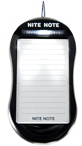 Dream Essentials Nite Note Nightime Notepad - Black
