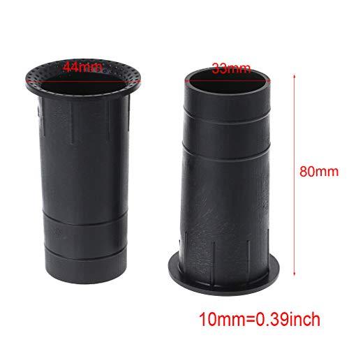 ABS Speaker Port Tube 3 Diameter 4 1//3 Length